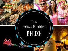 2016 Holidays of Belize