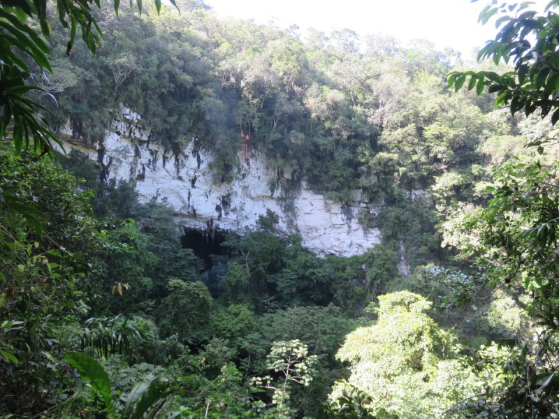 "Belize Tours - Adventure Rappelling in the ""Black Hole"" with San Pedro Scoop"