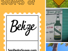 The cute, odd, fun, funny Signs of Belize.