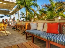 The Pool Deck at Mahogany Bay, Ambergris Caye