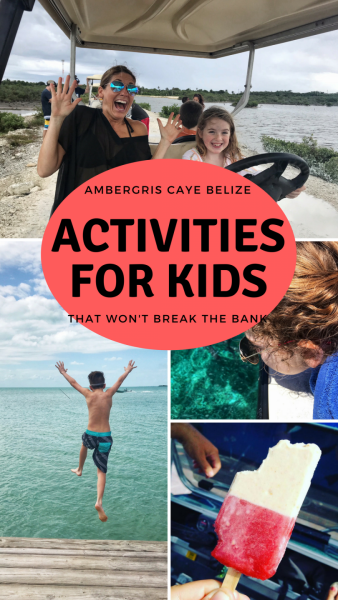 Belize is SUCH a great place for kids - snorkeling, shallow clear water and adventure from mild to spicy. Here's a list of things that don't cost much but will have your kids talking about Belize FOREVER!
