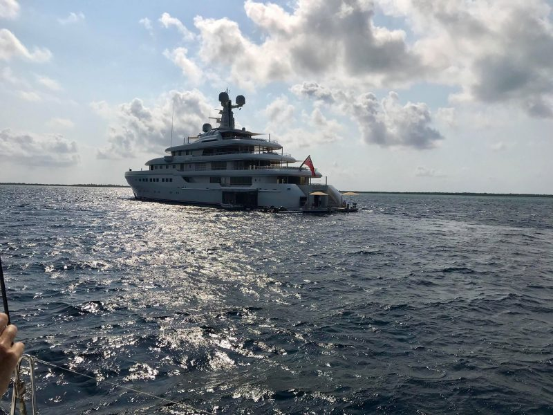 Romea Yacht in Belize