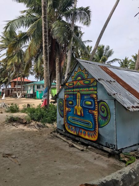 Painting Tobacco Caye