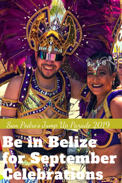 September celebrations in San Pedro Belize - the parade on the 21st and why you should visit Belize in September!
