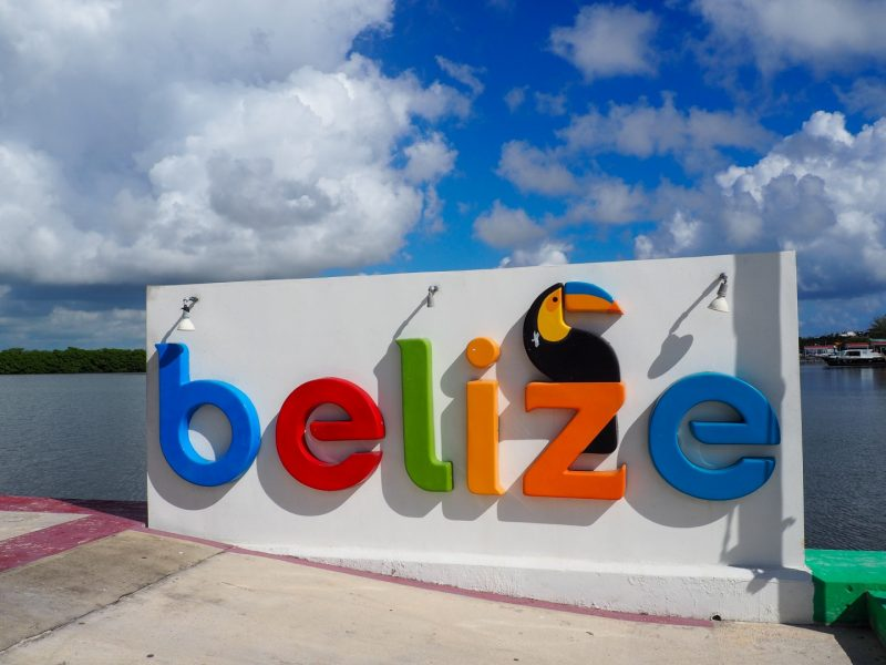 Belize Sign San Pedro